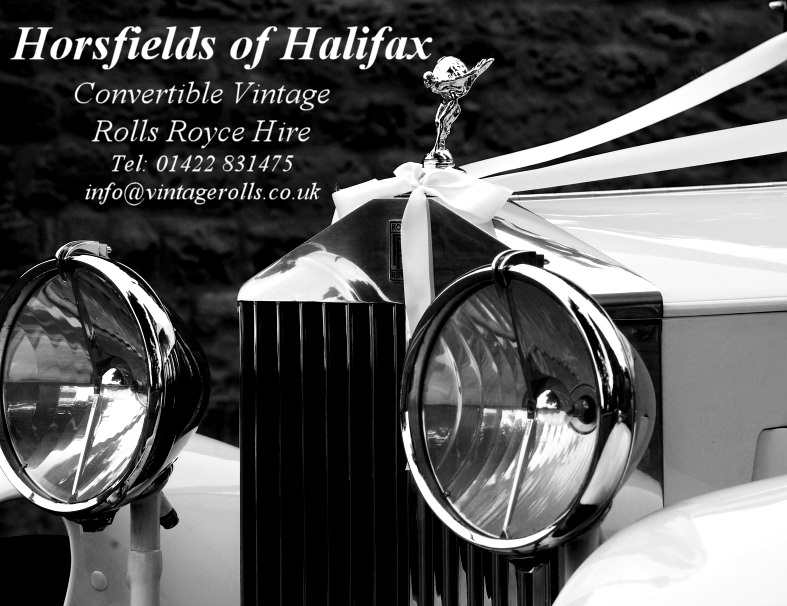 Convertible Vintage Rolls Royce Wedding Car Hire